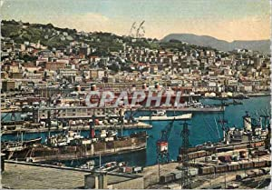 Carte Postale Moderne Genova le port Bateaux