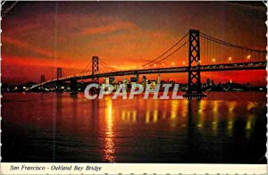 Carte Postale Moderne San Francisco Oakland Bay