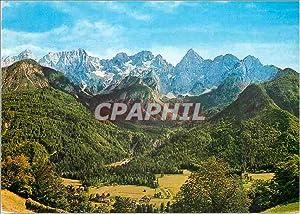 Carte Postale Moderne Gozd Martuljek Spikova skupina