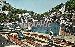 Carte Postale Moderne Mallorca Cala Figuera 1363