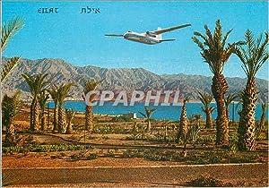 Carte Postale Moderne Eilat Arkias's Jet Prop