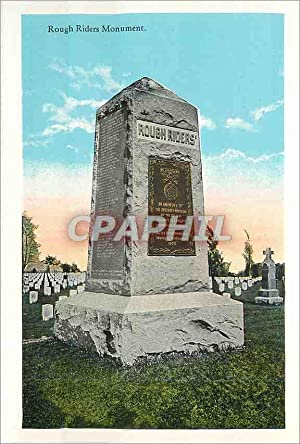 Carte Postale Moderne Rough Riders Monument Tomb