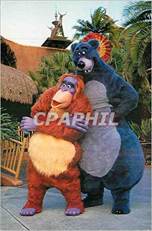 Carte Postale Moderne The bare Necessities Disneyland Mickey