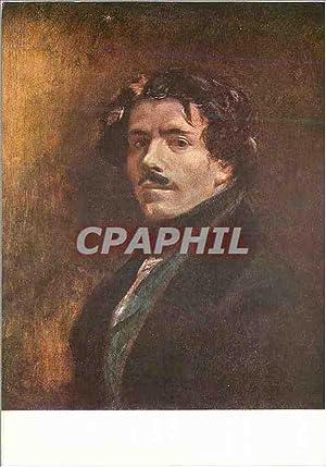 Carte Postale Moderne Eugene delacroix portrait de