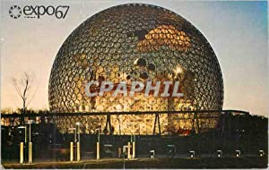 Carte Postale Moderne Expo Montreal Canada Le