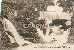 Carte Postale Ancienne Site Pittoresque de Franche Comte Consolation Source du Dessoubre
