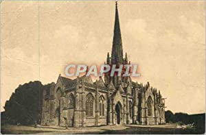 Carte Postale Ancienne La Normandie Pittoresque Carentan (Manche) Eglise N D