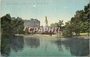 Carte Postale Ancienne Queen Victoria's Statue from