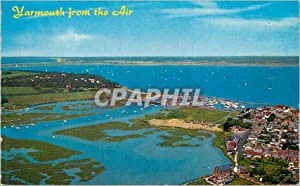 Carte Postale Moderne Yarmouth from the Air