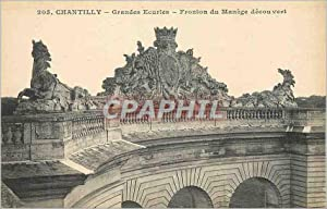 Carte Postale Ancienne 205 chantilly grandes ecuries