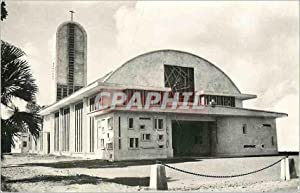 Carte Postale Moderne Eglise Saint Christophe Martinique