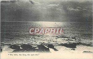 Carte Postale Ancienne the Wide the Deep