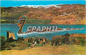 Carte Postale Moderne Loch ness monster at castle urouharti pt37142