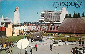 Carte Postale Moderne Expo 67 Canada Exiting