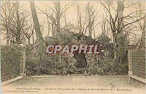 Carte Postale Ancienne Saint Leu Taverny Ancienne