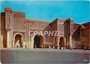 Carte Postale Moderne Meknes Bab Mansour