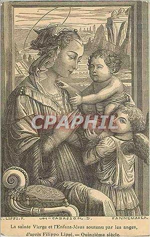 Image La sainte vierge et l enfant