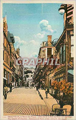 Carte Postale Ancienne Trouville La Reine des
