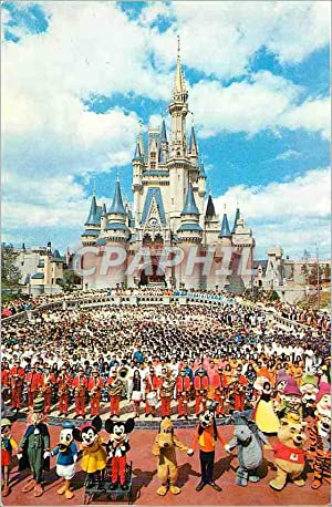 Carte Postale Moderne Welcome to Walt Disney World Mickey Pluto Winnie