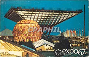 Carte Postale Moderne Montreal Canada Le Pavillon