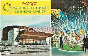 Carte Postale Moderne Montreal Canada Pavillon du