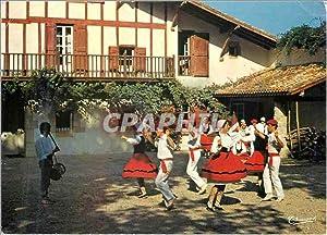 Carte Postale Moderne Pays Basque Groupe folklorique