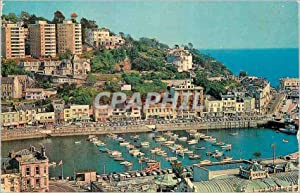 Carte Postale Moderne Torquay Harbour Devon Torquay has a wonderful situation overlooking tor Bay...