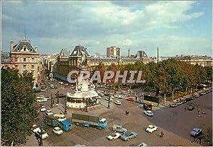 Carte Postale Moderne Paris La Place de