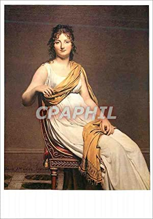 Carte Postale Moderne Louvre Portrait d'Henriette de