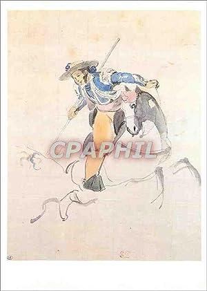Carte Postale Ancienne Eugene Delacroix (1798 1863)