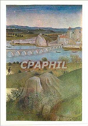 Carte Postale Moderne Ecole d'Avignon Retables des