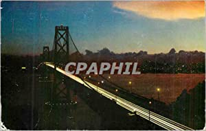 Carte Postale Moderne San Francisco Bay Bridge