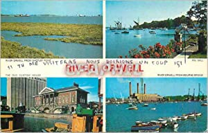 Carte Postale Moderne River Orwell from Shotley