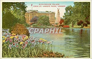Carte Postale Ancienne Buckingham Palace From St
