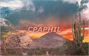 Carte Postale Moderne Valley of the Sun Surrounding Phoenix Spectacular Sunrise Over Camelback Mo...
