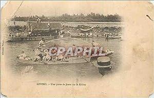 Carte Postale Ancienne Givors Une passe de