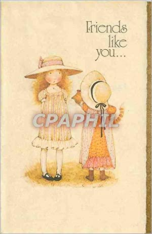 Carte Postale Moderne Friends Like You Holly Hobbie American Greetings