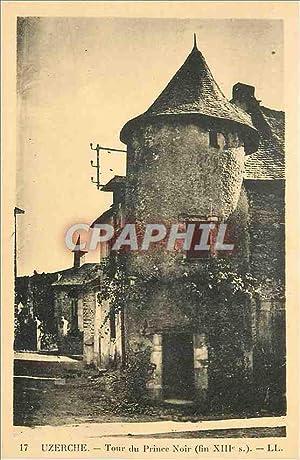 Carte Postale Ancienne Uzerche Tour du Prince