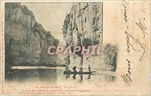 Carte Postale Ancienne Gorges du Tarn (Le Detroit)