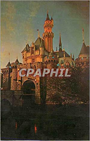 Carte Postale Moderne Speeping Beauty Caste Disneyland