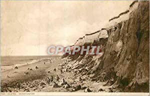 Carte Postale Ancienne Cliffs Hunstanton