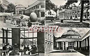 Carte Postale Moderne Contrexeville Etablissement Hydromineral Casino Source de Pavillon (Merves ...