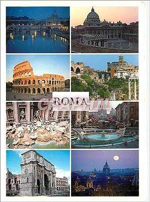 Carte Postale Moderne Roma Ponte Angelo E