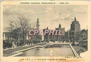Carte Postale Ancienne Paris 1931 Exposition Coloniale