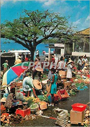 Carte Postale Moderne Martinique Saint Pierre Le Marche