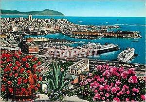 Carte Postale Moderne Genova Le Port vue