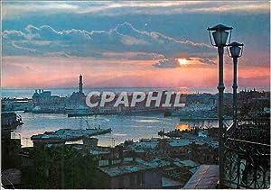 Carte Postale Moderne Genova Coucher du Soleil