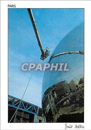 Carte Postale Moderne Paris la Villette La