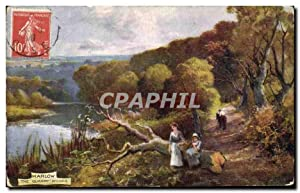 Great Britain Marlow Carte Postale Ancienne The