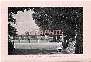 Carte Postale Ancienne Roma La Cupola di